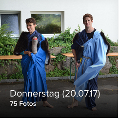 Donnerstag (20.07.17)